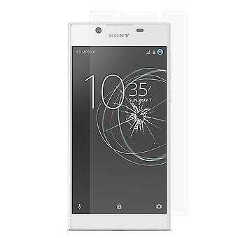 Sony Xperia L1 Härdat Glas Skärmskydd Retail Förpackning