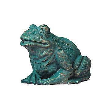 Frog, fountain for garden 31x24x21 cm