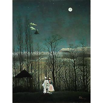 Ein Karneval Abend, Henri Rousseau, 50x40cm