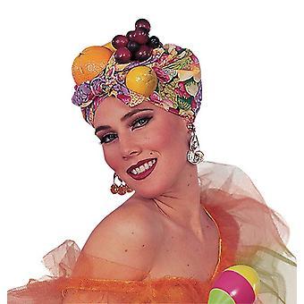 الفاكهة كارمن ميراندا نمط غطاء الرأس.