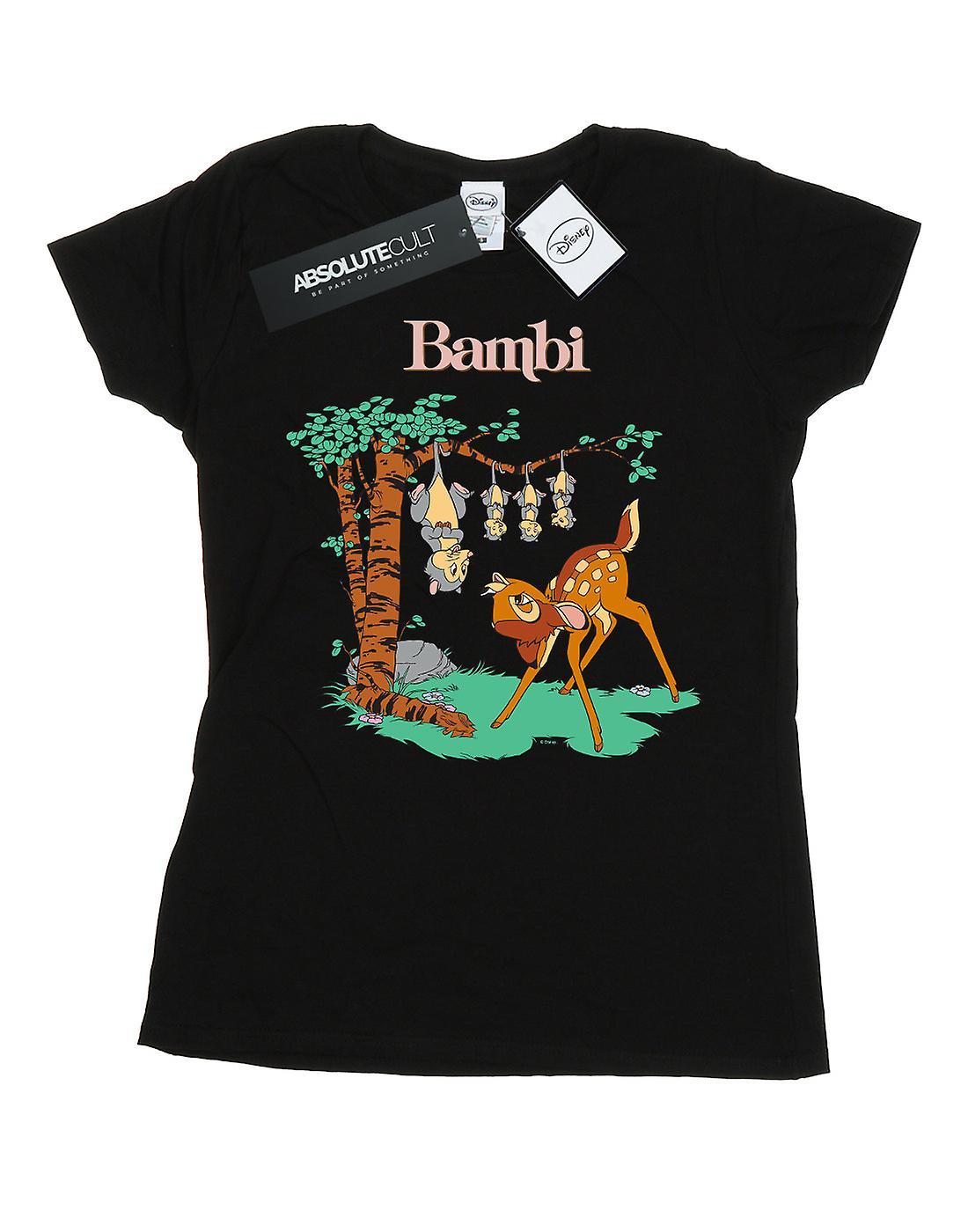 Disney Women's Bambi Tilted Up T-Shirt