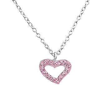 Heart - 925 Sterling Silver Necklaces - W29853X