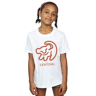 Chicas de Disney el León rey cueva dibujo t-shirt