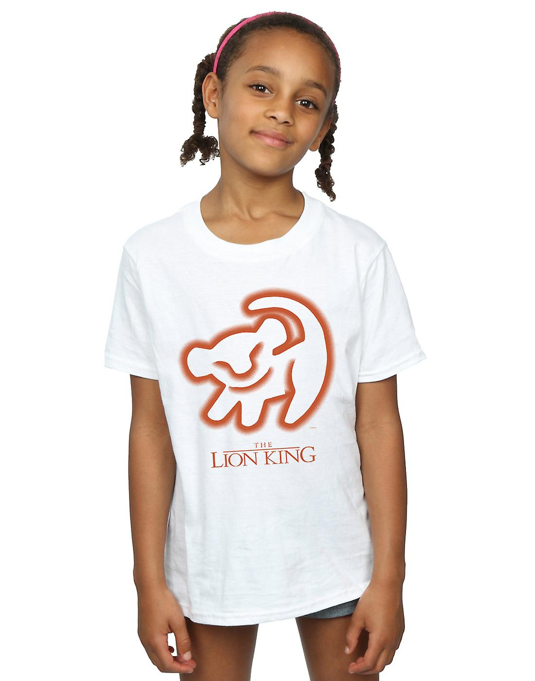 Disney Girls The Lion King Cave Drawing T-Shirt