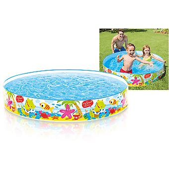 Intex Under The Palm Trees Snapset 5 Ft by 10 Inch Paddling Pool