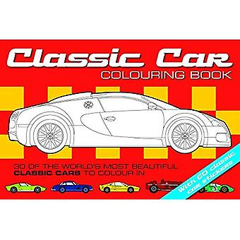The Classic Car Colouring Book