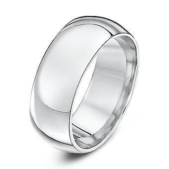 Star Wedding Rings Palladium 950 Heavy Court 8mm Wedding Ring