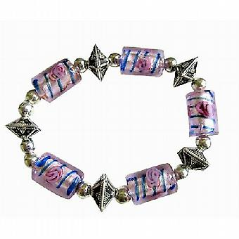 Exclisive Traditional Ethnic Millefiori Bracelet Stretchable Bracelet