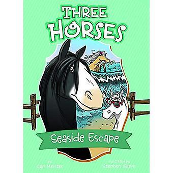 Fuga al mare: Un libro di 4D (tre cavalli)