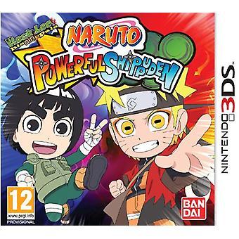 Naruto Powerful Shippuden (Nintendo 3DS) - New