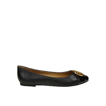 Tory Burch 46882009 Women's Black Leather Flats
