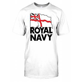 Koninklijke Marine Flag - Britse zeemacht Mens T Shirt