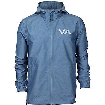 RVCA Mens VA Sport Steep Sport Jacket - Desert Blue