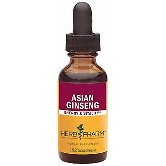 Herb Pharm Ginseng Estratto-Asian 1 Oz