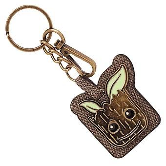 Guardians of the Galaxy Groot PU and Metal Keyring