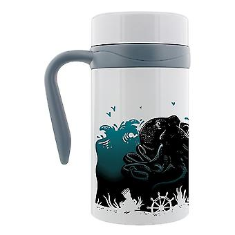 Grindstore Kraken Oceanscape tazza da viaggio termica con manico