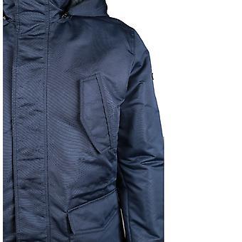 CAT Lifestyle Mens Utica Removable Hood Windproof Jacket