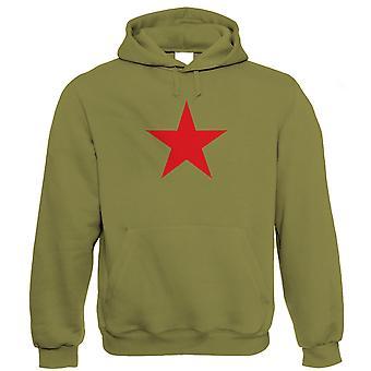 Red Star, Rétro soviétique communiste politique Hoodie - Pop Culture Lui cadeau Her