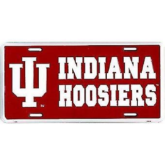 Indiana Hoosiers NCAA License Plate