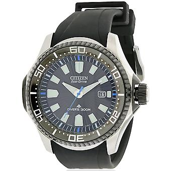 Citizen Eco-Drive Promaster Diver Rubber Mens Watch BN0085-01E
