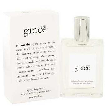 Pure Grace By Philosophy Eau De Toilette Spray 2 Oz (women) V728-502628