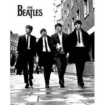 The Beatles i London Mini affisch 40x50cm