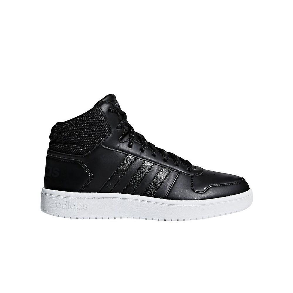 Adidas Hoops 20 Mid B42100 uniwersalny całoroczne buty damskie vRHGK