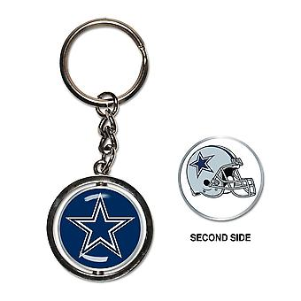 Wincraft SPINNER Keychain - NFL Dallas Cowboys