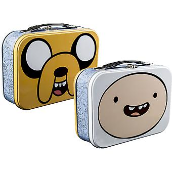 Adventure Time Jake & Finn Face Lunchbox