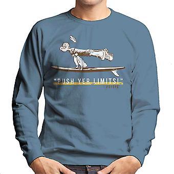 Popeye Push Yer Limits Surf Men's Sweatshirt