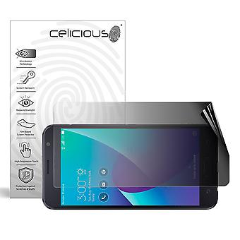 Celicious Privacy 2-Way Landscape Anti-Spy Filter Screen Protector Film Compatible with Asus Zenfone V (V520KL)