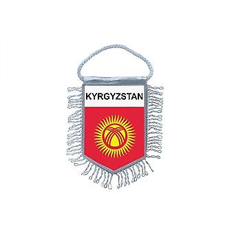 Flag Mini Flag Country Car Decoration Kyrgyzstan