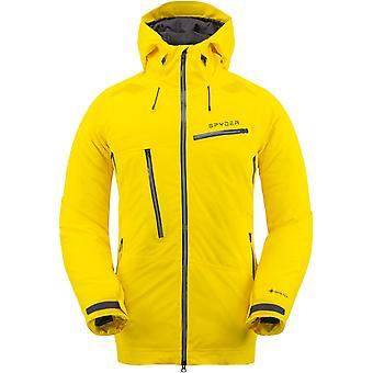 Spyder HOKKAIDO Men ' s Gore-Tex Primaloft jacheta de schi galben soare