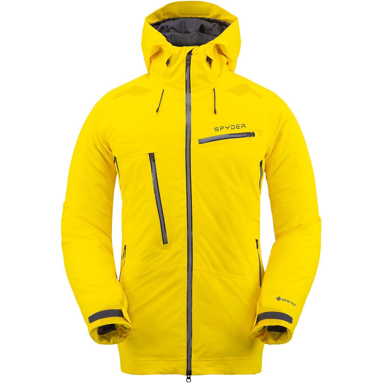 Spyder HOKKAIDO Herren Gore-Tex Primaloft Ski Jacke sun gelb