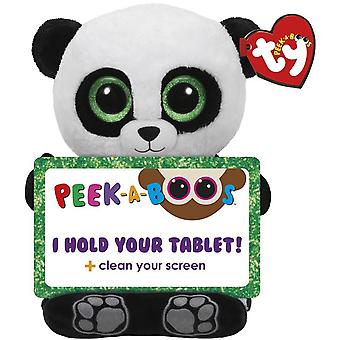 TY Poo Panda Stuffed animal Tablet holder for tablet 30cm