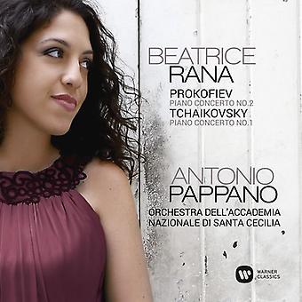 Prokofiev / Tchaikovsky / Rana, Beatrice / Orchestr - Piano Concertos [CD] USA import