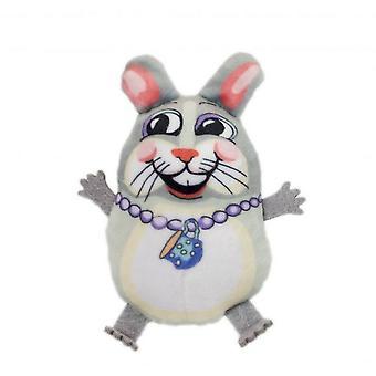 Sharíčky Teacup Fluff Bunny kočičí hračka