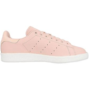 adidas Originals Mens Stan Smith Boost Low Rise Lace Up Trainers Sneakers Coral