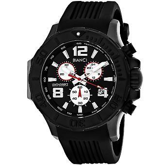 Roberto Bianci Men-apos;s Aulia Black Dial Watch - RB55052