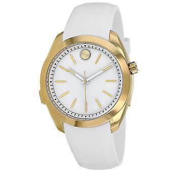 Movado Women's Bold motion White Dial Watch - 3660006