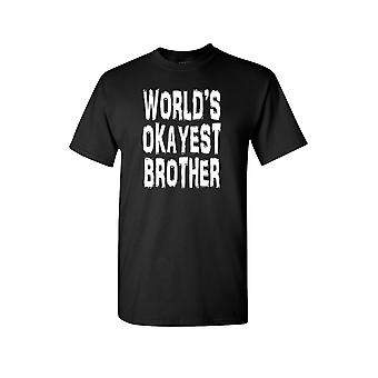 Unisex World's Okayest Brother Short Sleeve Shirt