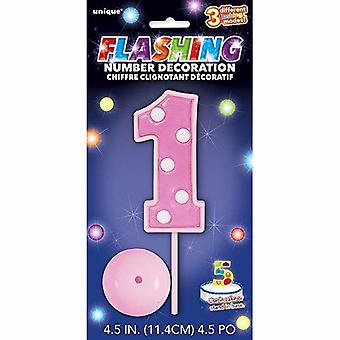Unique Party Flashing Number Birthday Decoration