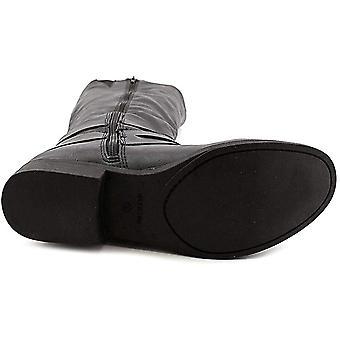Style & Co Womens Mayy Faux läder spänne knä-höga stövlar