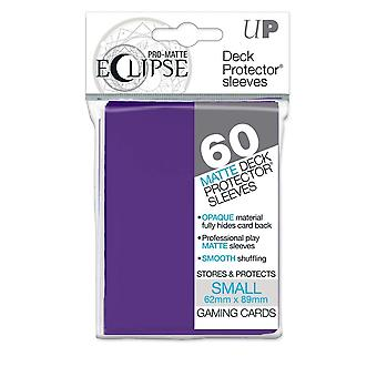 Pro-Matte Eclipse Royal Purple Small Deck Protector Sleeve 60ct (Pack of 12)