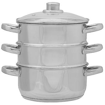 Oui Chef Unisex 3 Tier Steamer Set