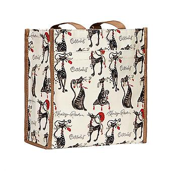 Marilyn Robertson-catitude shopper bag door signare tapijten/Shop-Cude