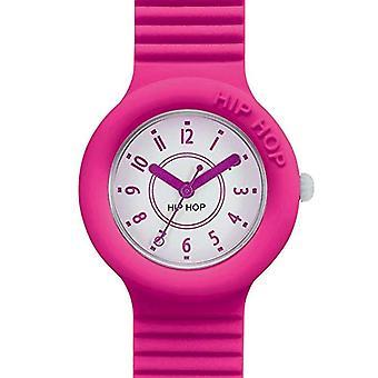 Hip Hop Analog quartz ladies Silicone wrist watch HWU0629