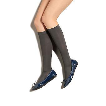 Therafirm Preggers Maternity Support Socks [Style AP2] Cocoa (Dark Brown)  L