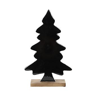 Light & Living Ornament 31x8x46cm Tree Black And Wood Natural