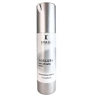 Image ageless total anti-aging face serum with plant stem cell technology 1.7 oz
